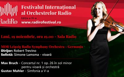 RadiRo Festival with MDR Sinfonieorchester Leipzig and Robert Trevino