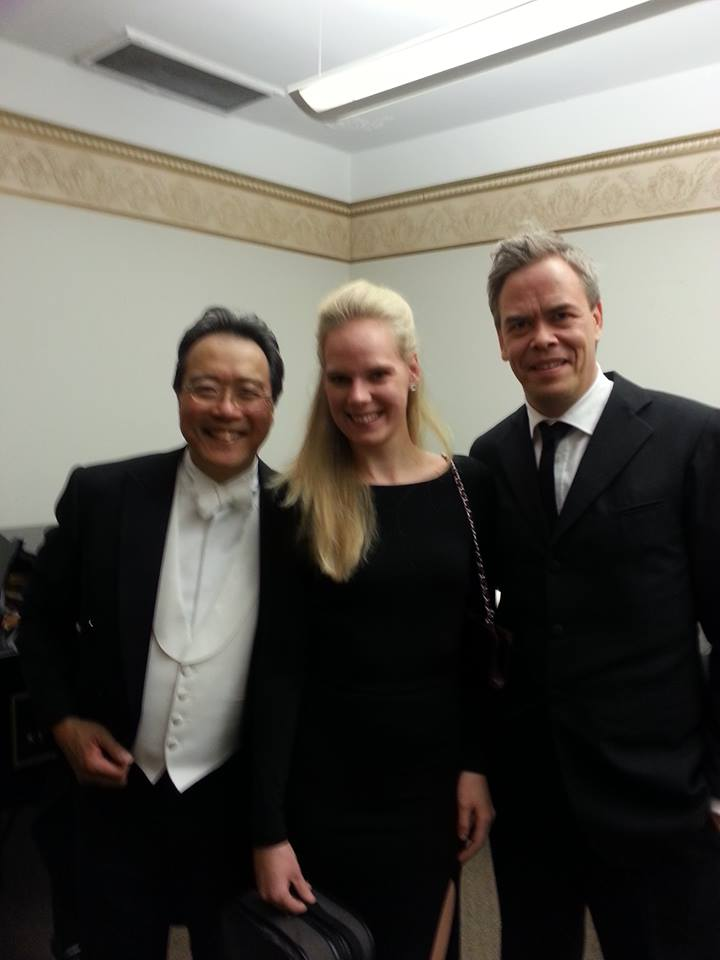 2013 - US, St Louis with Yo-Yo Ma and Hannu Lintu