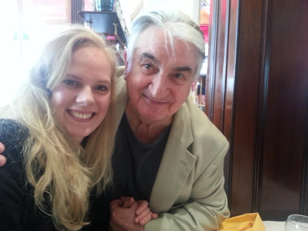 2013 - UK, London with Professor Maurice Hasson