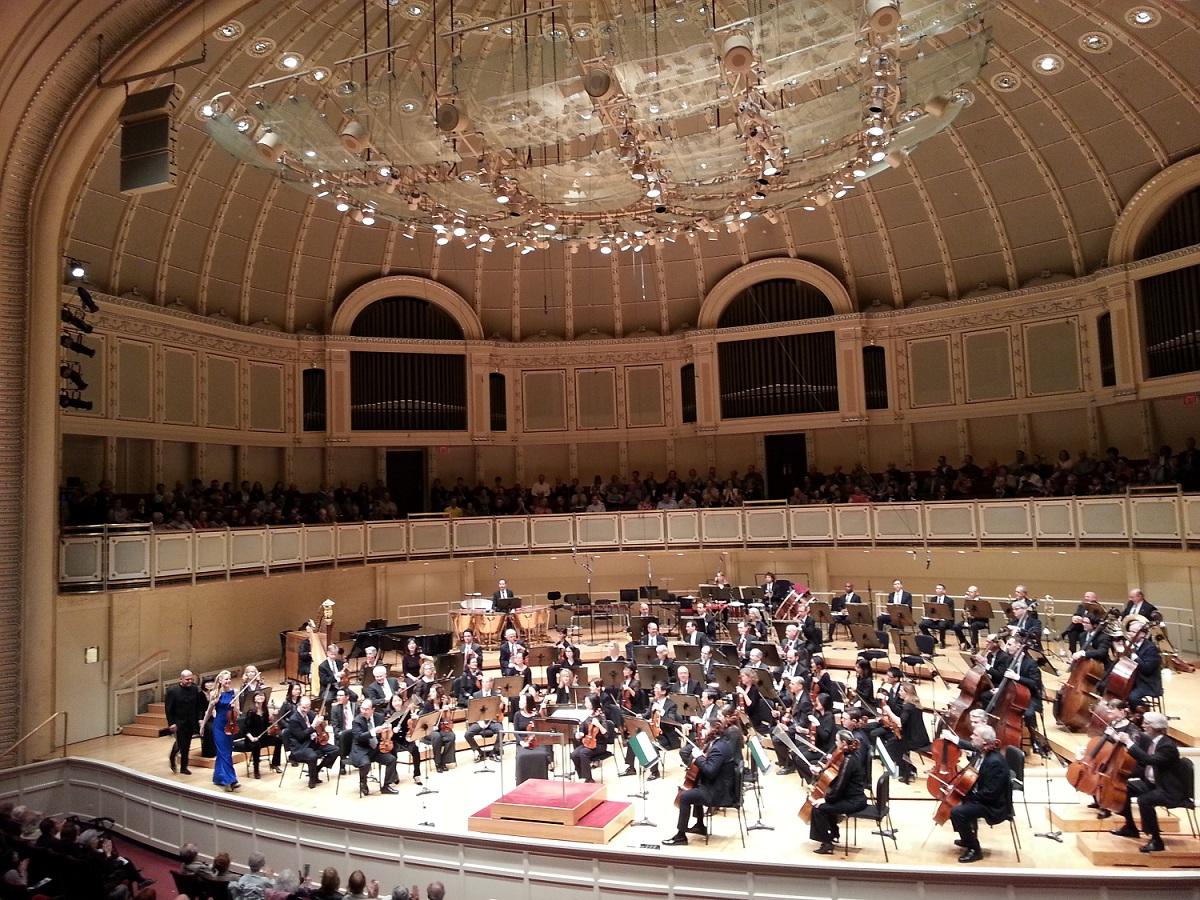2014 US, ChicagoChicago Symphony, Jaap van Zweden