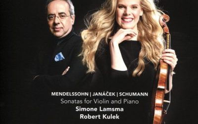 Mendelssohn – Janáček – Schumann Sonatas for Violin and Piano