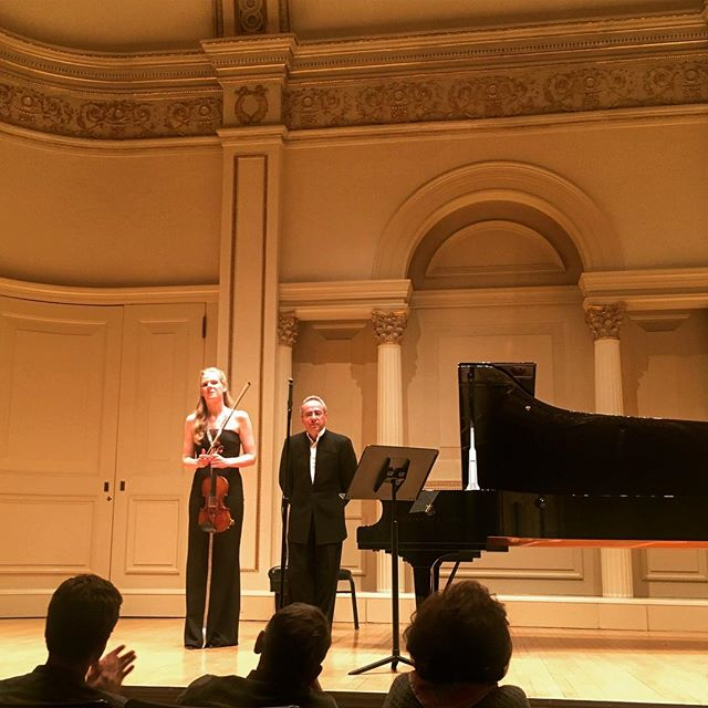 2017 - US, New York Carnegie Hall - Weill Recital Hall