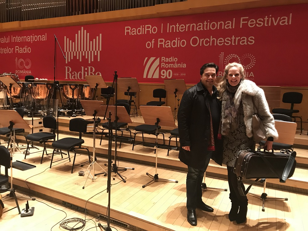 2018 - Romania, Bucharest RadiRo FestivalMDR-Sinfonieorchester, Robert Trevino