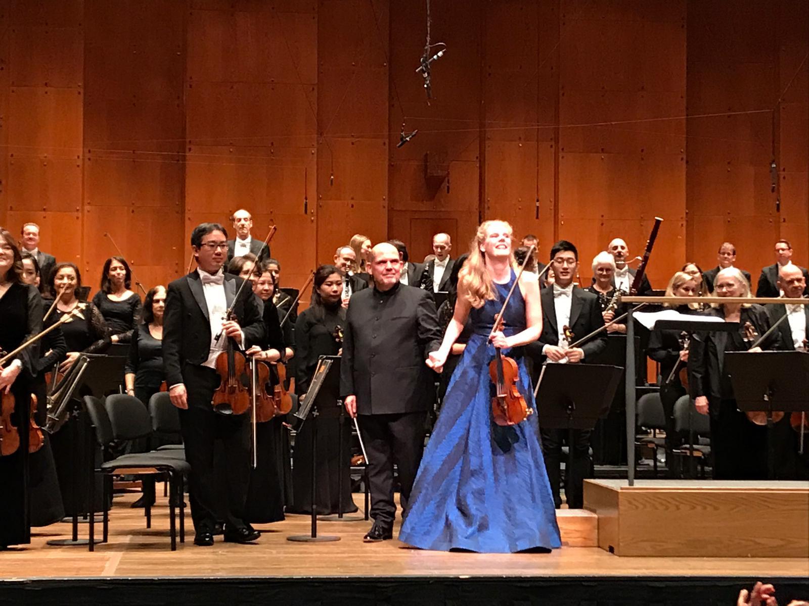 2018 - US, New York Lincoln Center New York Phiharmonic, Jaap van Zweden