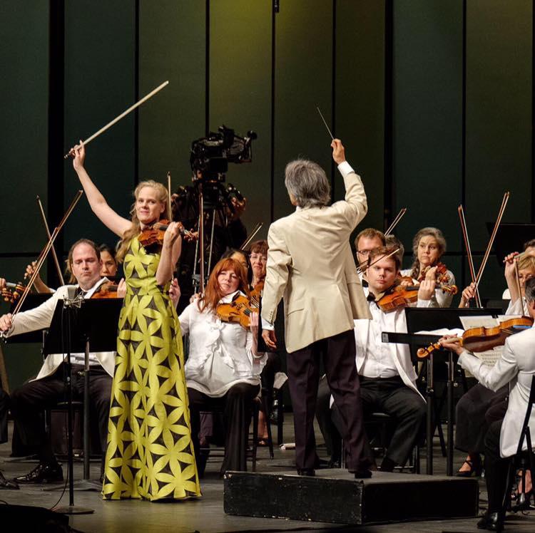 2019 - Canada, Festival de LanaudièreOrchestra symphonique de Montréal Kent Nagano,