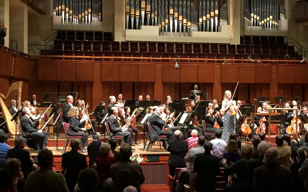 National Symphony Orchestra Washington debut
