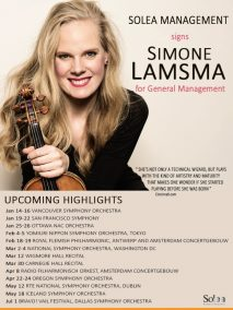 Solea Management - Signing announcement Simone Lamsma