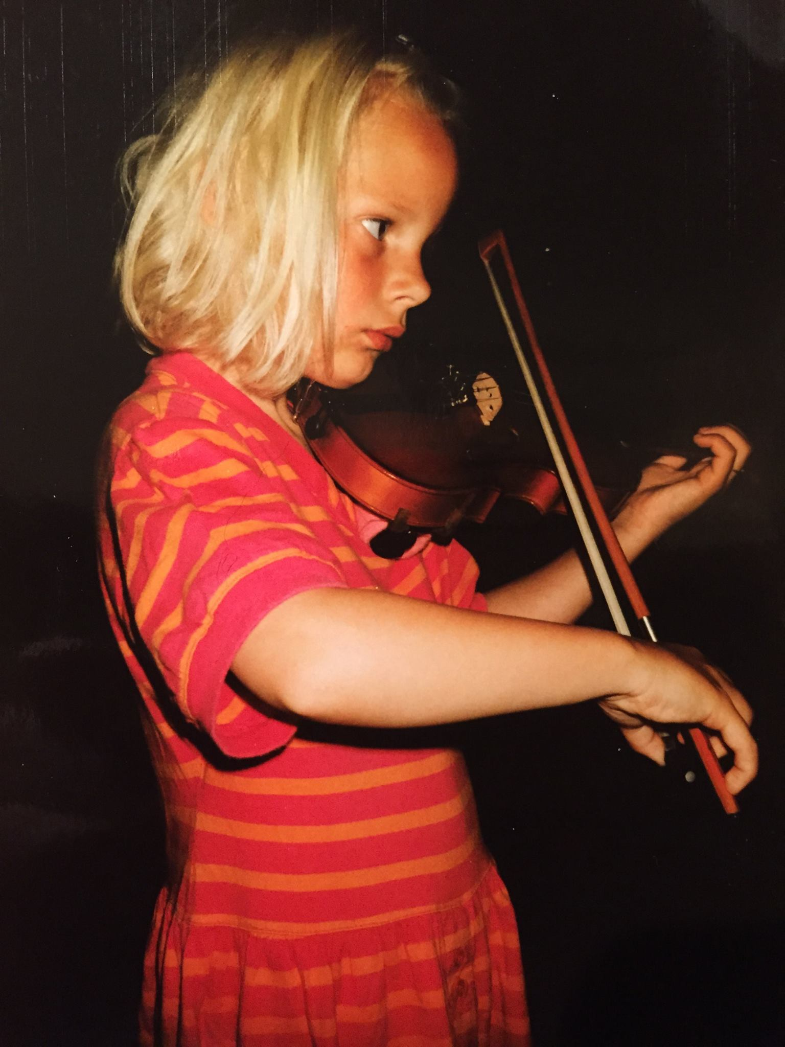 Simone Lamsma - 5 years old